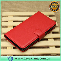 Factory price PU leather skin case cover for huawei ascend g700