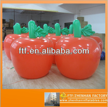 custom different size EN71 red giant inflatable apple for ,pvc cheap inflatable apple toy