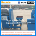 Full automatic wood stick sawdust charcoal making machine
