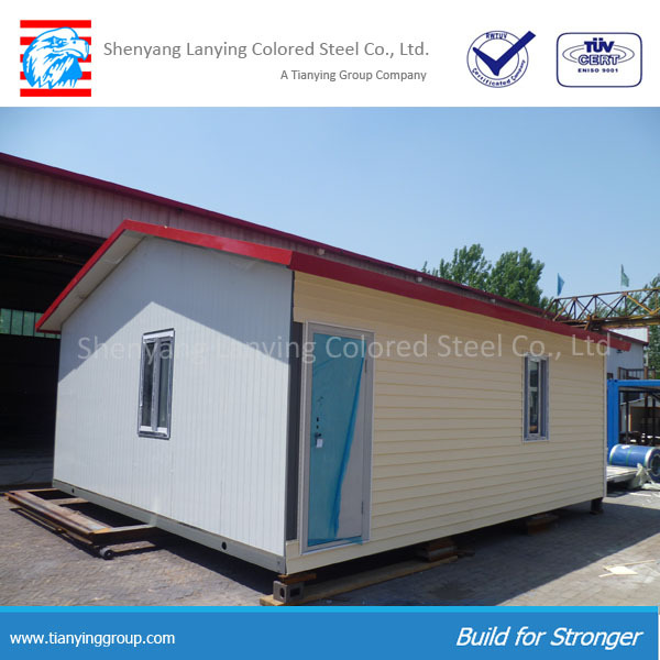Low cost prefabricated houses for accommodation, temporary living