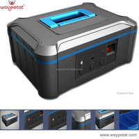 WAYPOTAT gun safe with fingerprint code