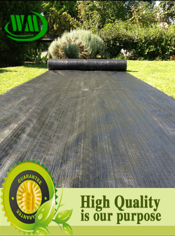 high quality low price woven fabric artificial grass pad