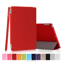 Factory Price Smart Foldable Leather Protective Cover Auto Wake Up Case for iPad mini 1/2/3 for Apple mini 1/2/3