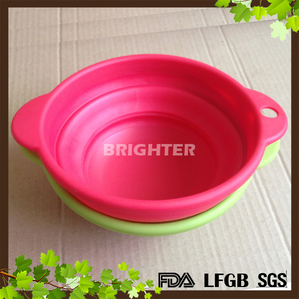 Collapsible Silicone Colander Space Saving Kitchen Strainer