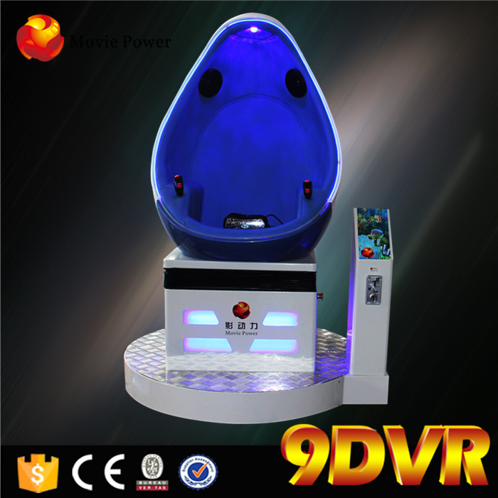 Thrilling Virtual Reality 3 Dof Electric Platform 9d Vr Egg Cinema
