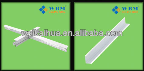 grab bar/Design cross tee runner for suspended ceiling syste/South Africa market