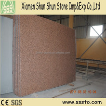 Tianshan red cheap standard granite slab size for sale