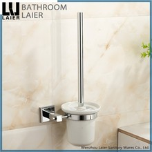 Solid Brass Chrome Finish Toilet Brush Holder, Bathroom Hardware Product,Bathroom Accessories