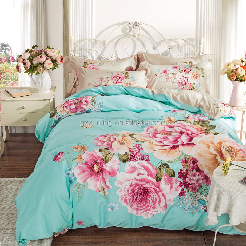 home use cotton 4 pcs bedding set