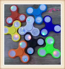 2017 Electric lighter LED Hand finger spinner toy for kids adult toy,stress toy