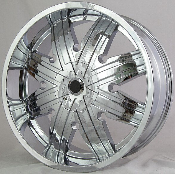 22 24 inch chrome alloy wheels rims, car mag wheel rim with pcd 6x139.7