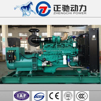 300 kva automatic voltage regulator for air cooled diesel generator with Cummins engine