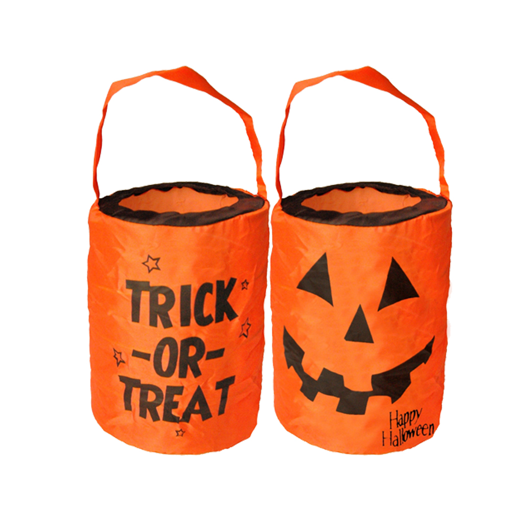 Drawstrings Treat Candy non woven wholesale halloween bags