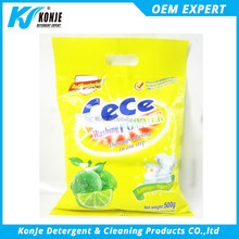 CEE 500G high foam detergent powder chemical formula with competitive price from spray drying detergent powder plant