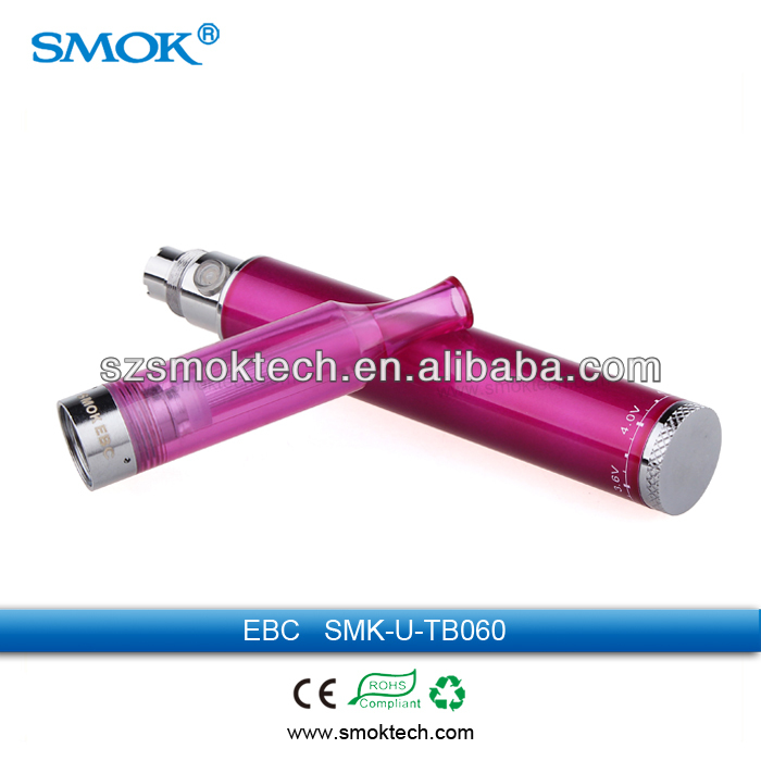 Make in China new product huge vapor smok EBC clearomizer e cigarette glass tank