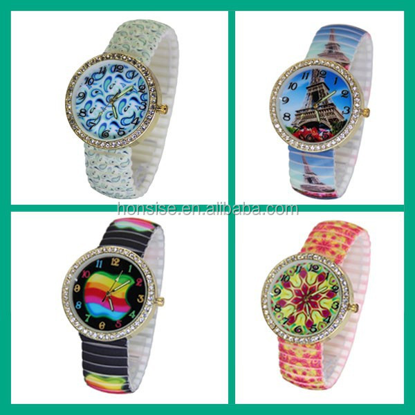 2015 Vogue Silicone wrist Vintage watches for ladies