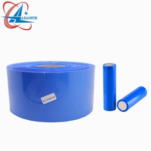 Hot selling custom 18650 heat shrink battery printed wrap