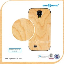 Hot sale universal cell phone custom wooden phone covers for samsung galaxy S4