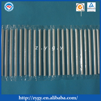 film packed transparent straight straw