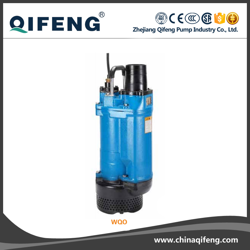 cast iron high head submersible mud pump submersible pump waste water sewage pump 1.1kw flow 7m3/h