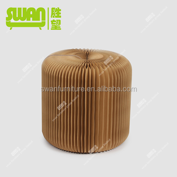 2208 special paper chair paper ottoman