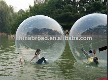 2011 hot-selling PVC water bounce ball(Durable PVC material)