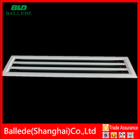 HVAC Aluminium Linear Slot Diffuser Air Grill With Plenum Box manufacturer
