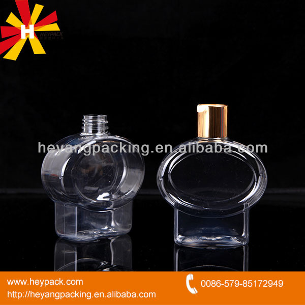 250ml PET plastic bottle cosmetic