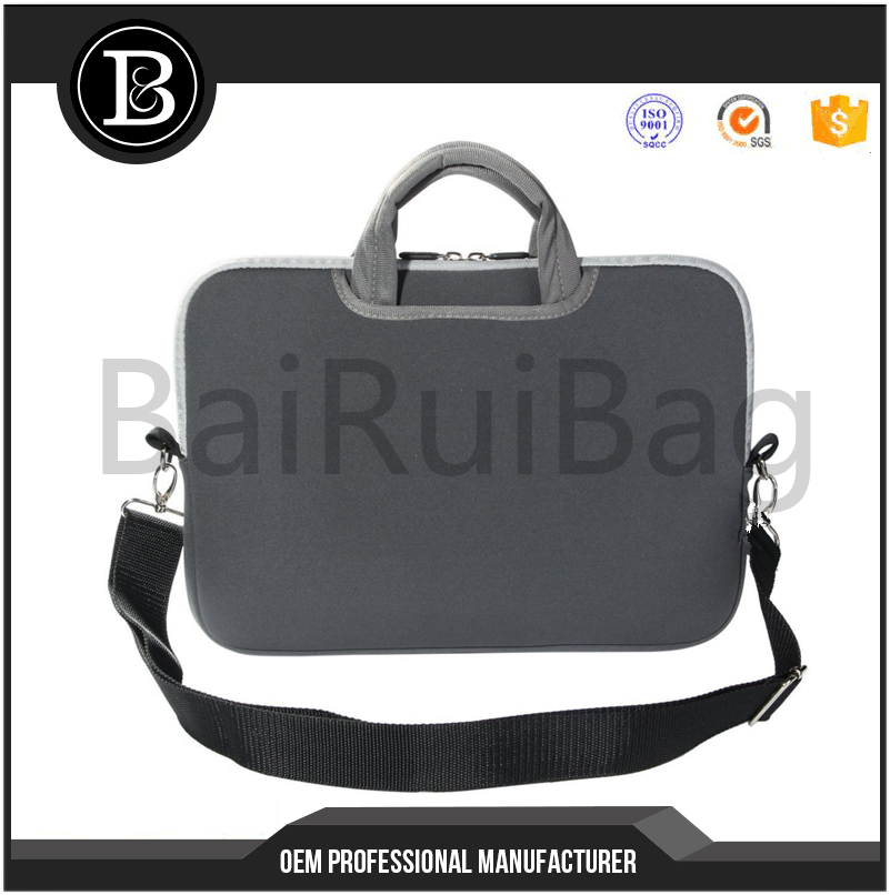 "17""-17.3"" inch Laptop Netbook / Notebook Computer / Neoprene Zipper Carrying Bag Sleeve Pouch Bag Tote w/Handle"