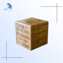Factory directly sale custom shape design solid wooden block