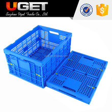 Fashion design cheap pp recyclable plastic crates on sale