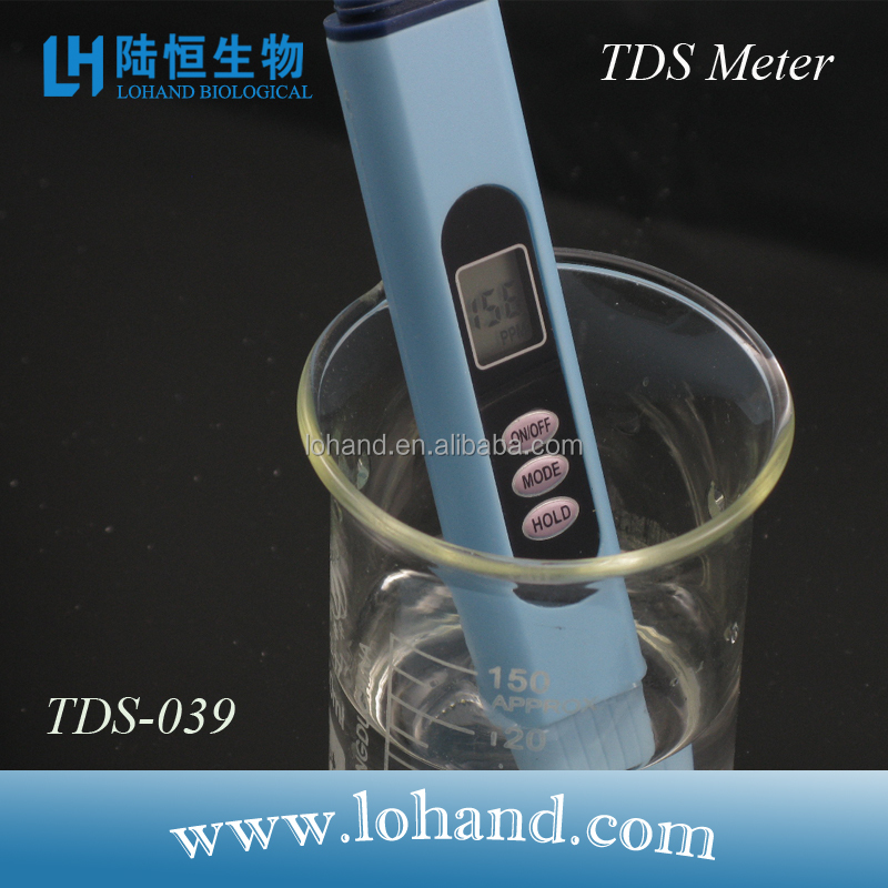 China made factory price data hold TDS meter water test equipment