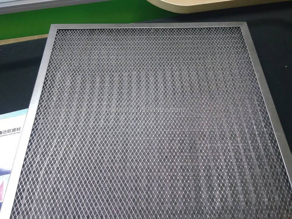 dust filter mesh factory supplier aluminum air filter mesh