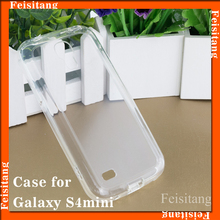 For Samsung galaxy s4 mini i9190 i9192 i9195 Transparent with TPU mobile phone case cover