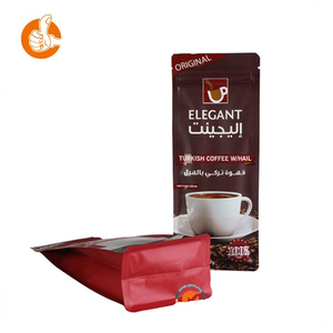 Packaging bag printed nylon pyramid tea bags for laminated bag with stand up pouch