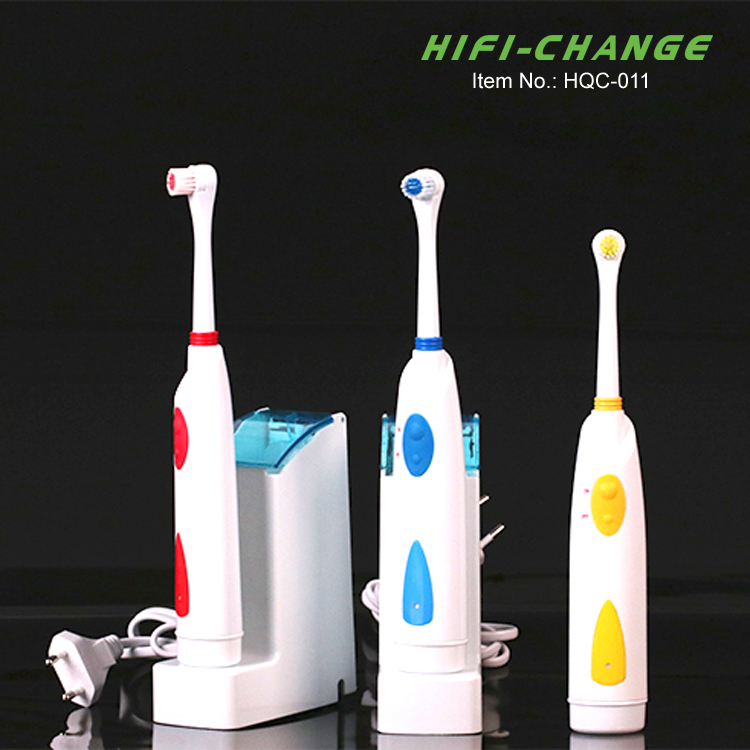 wholesale promotional product sonic electric toothbrush rotation oscillation toothbrush HQC-011