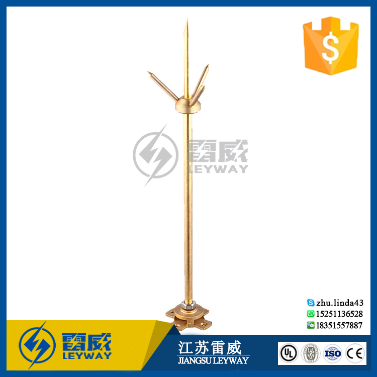 Lightning Protection Air Terminal Or Lightning Rod Price