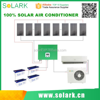 solar power air conditioner with ac fan on sale