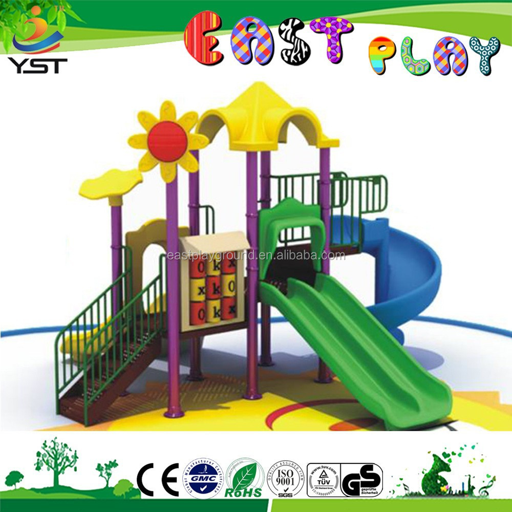 Outdoor Game of Playground Equipment for kids 2 to 14 years old.