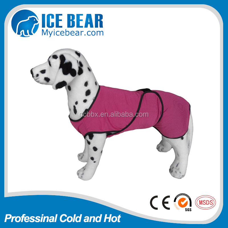 dependable performance hot selling dog cooling coat /chilling vest