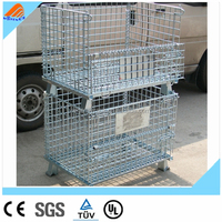Wire Container Type and Medium Duty Scale Wire Container,large wire mesh container,types container trucks