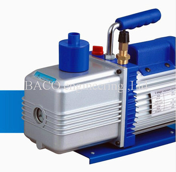 Durable 9 CFM rotary vacuum pump for priting machine