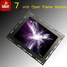 "refurbish and repair 7"" lcd tft touch screen monitor with dvi/hdmi for suppermarket"
