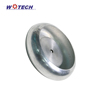Customized aluminum spinning round small lighting cover