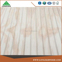 Decoration Laminated Tongue and Groove plywood