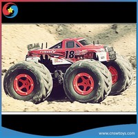 2014 New 1:6 RC Big Wheel Car With Light RC 4WD Monster Truck For Sale