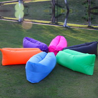 Outdoor sleeping bed inflatable sleeping air bag for camping
