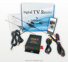 Top quality high speed 250km/h car Digital TV DVB-T TV box receiver dual tuner dvb-t mpeg4 tv box