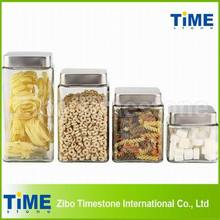 Glass Coffee Tea Sugar Canister Sets