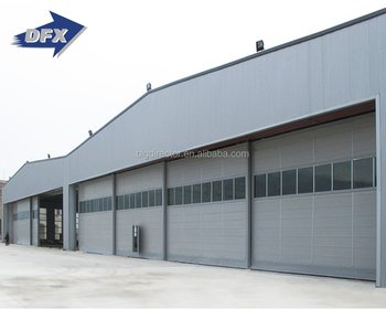 Flexible Design High Quality Corrugated Prefabricated Aircraft Hangar